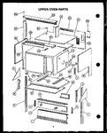 Diagram for 11 - Upper Oven Parts