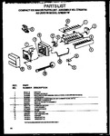 Diagram for 02 - Compact Ice Makerparts List