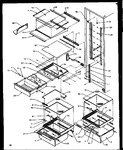 Diagram for 10 - Ref Shelving And Drawers