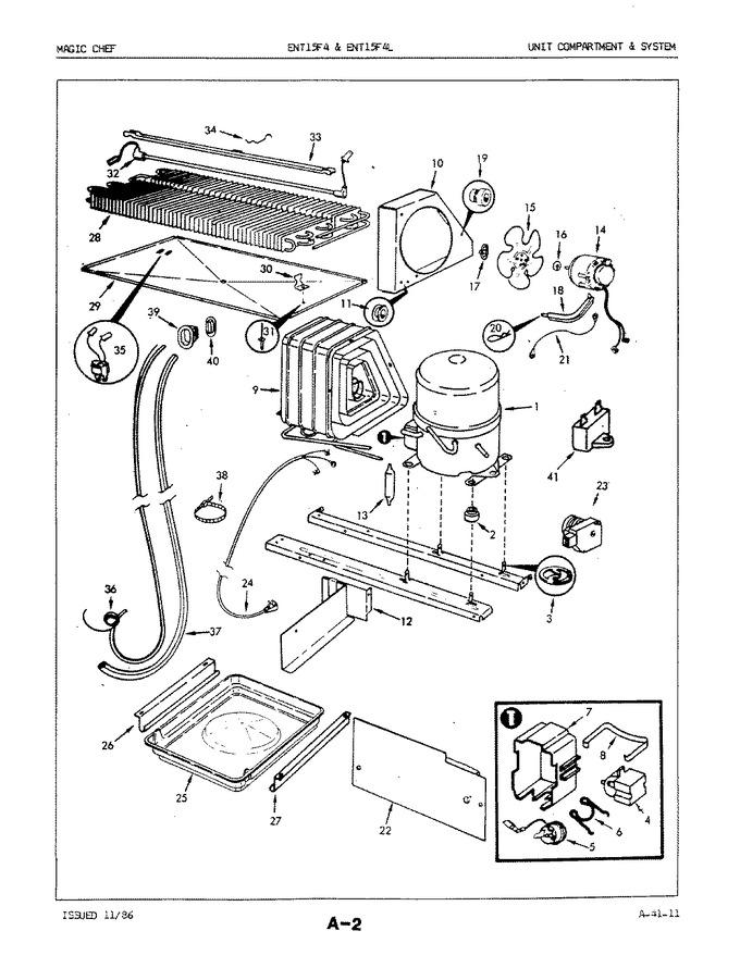 Diagram for ENT15F4H (BOM: 5D74A)