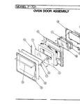 Diagram for 07 - Door Assembly (upper)