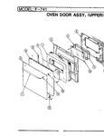 Diagram for 04 - Door Assy. (upper)