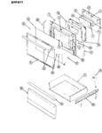 Diagram for 03 - Door/drawer (-579)