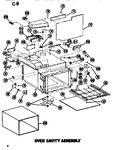 Diagram for 05 - Oven Cavity Assy