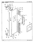 Diagram for 03 - Freezer Outer Door