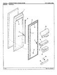 Diagram for 05 - Fresh Food Inner Door
