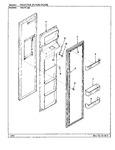 Diagram for 02 - Freezer Inner Door