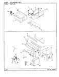 Diagram for 07 - Ice Maker & Bin