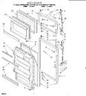 Diagram for 05 - Door, Lit/optional