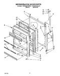 Diagram for 08 - Refrigerator Door, Lit/optional