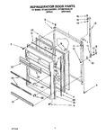 Diagram for 07 - Refrigerator Door, Lit/optional